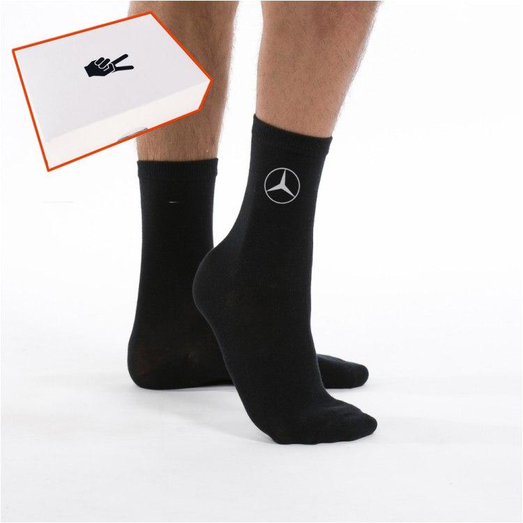 Mercedes Benz kojinės su dėžute