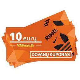 Dovanų kuponas 10 €