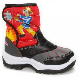 Vaik. Fireman Sam sniego batai